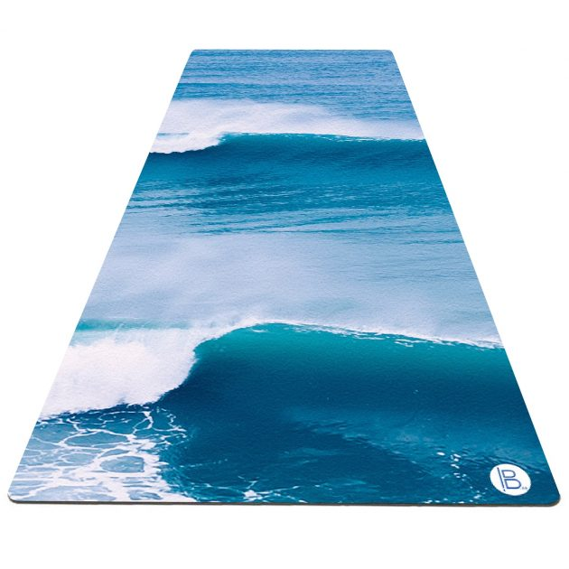 Beach Print Yoga Mat