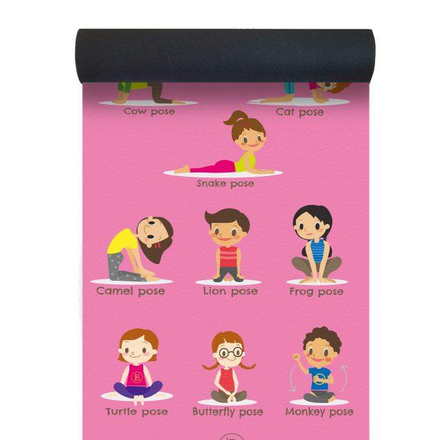 Cute Kids Yoga Mat