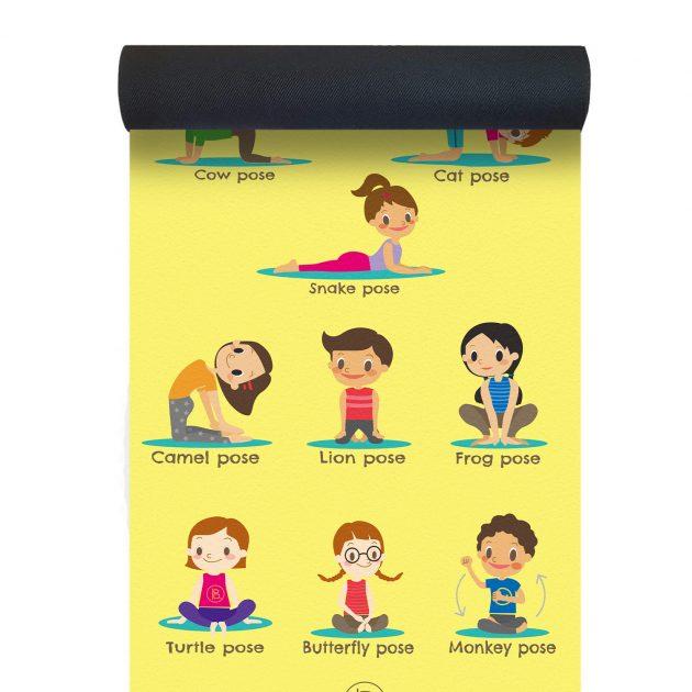 Kids Yoga Pose Mat